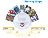 mape podzemnih zeljeznica